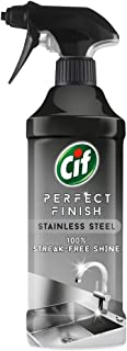 Cif Perfect Finish Stainless Steel 100% Streak-free Shine Specialist Cleaner Spray Multi-purpose Cleaner 435 ml