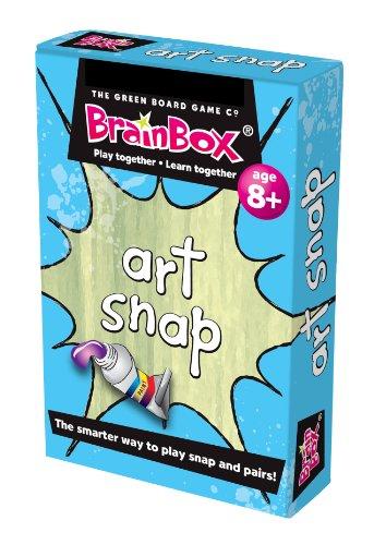 The Green Board Game Co. Gioco di Carte Art Snap