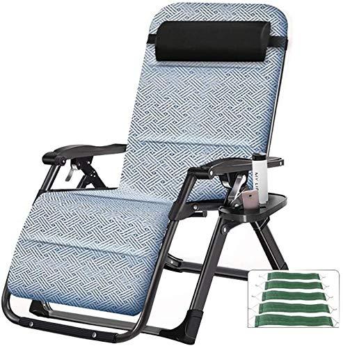 WGFGXQ Sedie a Sdraio Sdraio Pieghevole Sedia a Sdraio Patio sedie reclinabili  Ideale for Patio Posteriore Giardino di Campeggio di Picnic Beach Relax all'aperto comodità Posto a Sedere .Lettino