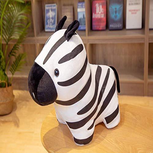 N / A 1 unid Lindo Cebra Animal muñeca Felpa simulación Animal muñeca Juguete para niños niña cumpleaños sofá decoración 40 cm