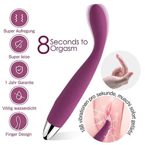 SVAKOM COCO extra dünner Vibrator auch für Klitoris und G-Punkt für sie
