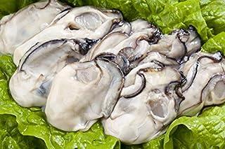 【おさかな問屋 魚奏】 広島産 カキ 大粒むき牡蠣 (加熱用) 特大2Lサイズ1kg 30粒前後