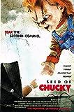 Lienzo Cuadro Semilla de Chucky Movie Art Film Print Poster Home Wall Decor 60x90cm