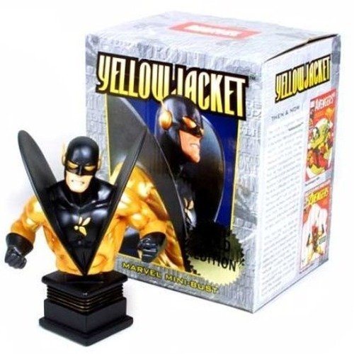 Yellow Jacket (Gold Variant) Mini Bust by Bowen Designs