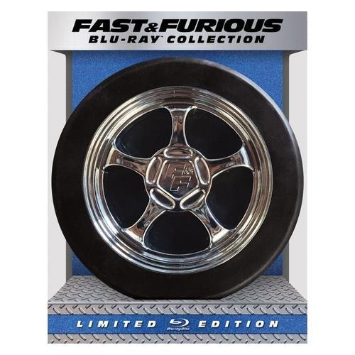 Fast & Furious 1-7 Collection (8 Blu-Ray) [Edizione: Stati Uniti]