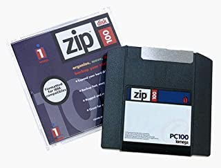 Iomega Zip 100 Disk IBM Formatted Single Disk (Discontinued by Manufacturer)