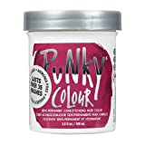 Punky Rose Red Semi Permanent Conditioning Hair Color, Non-Damaging Hair Dye, Vegan, PPD and Paraben Free, Transforms to Vibrant Hair Color, Easy To Use and Apply Hair Tint, lasts up to 25 washes, 3.5oz