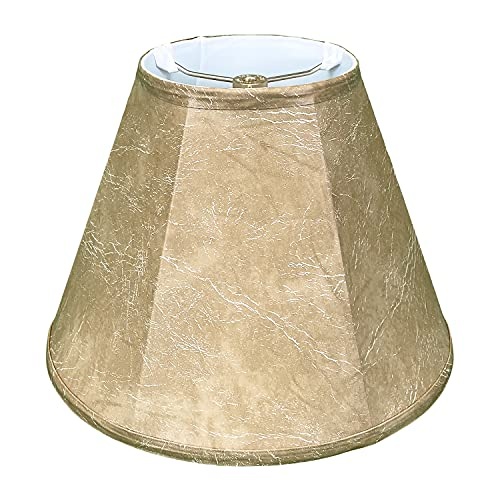 Royal Designs Deep Empire Lamp Shade, Mouton, 10 x 20 x 15