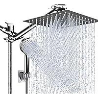 PinWin 10 Inch High Pressure Rain Shower Head Combo