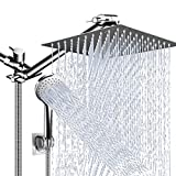 Shower Head Combo,10 Inch High Pressure Rain Shower Head with 11...