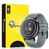 SPGUARD Schutzfolie Kompatibel mit Huawei Watch GT 2 42mm Schutzfolie [6 Stück] LiQuidSkin Anti-Bubble Clear Film für Huawei Watch GT 2 42mm