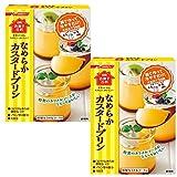 日清 お菓子百科 なめらかカスタードプリン 55g ×2箱