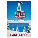 artboxONE Poster 90x60 cm Natur Lake Tahoe California -