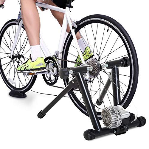 WANGYONGQI Rodillo de Entrenamiento de la Bicicleta Rodillo Interior de la Bicicleta Entrenador Carga de Resistencia Ajustable 100 kg