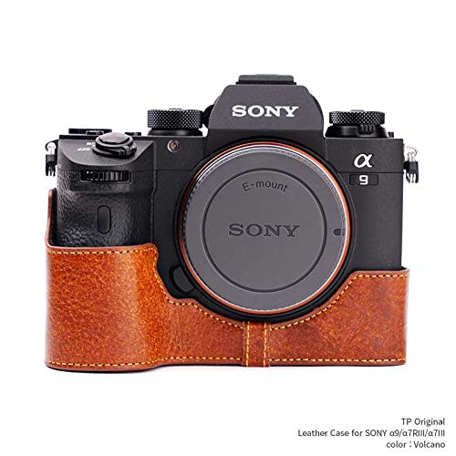 TP Original Leather Camera Body Case for SONY α9/α7RIII/α7III Volcano ボルケーノ ソニー 本革 カメラ...