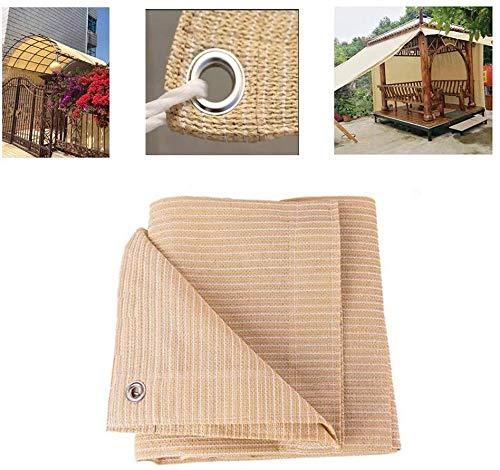CXF Malla sombreadora Sombra Net, Sun Sail Shade, HDPE rectángulo Toldo Toldo Protector Solar UV Bloque Parasol Cubierta Ideal Tanto for Exterior Patio Yarda del jardín de la Cubierta Pergola
