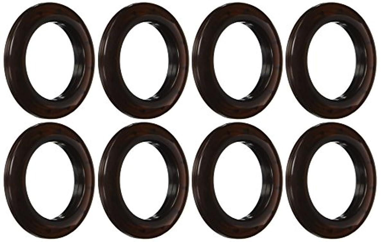 Dritz Home 44366 Round Curtain Grommets, 1-9/16-Inch, Bronze (8-Piece)