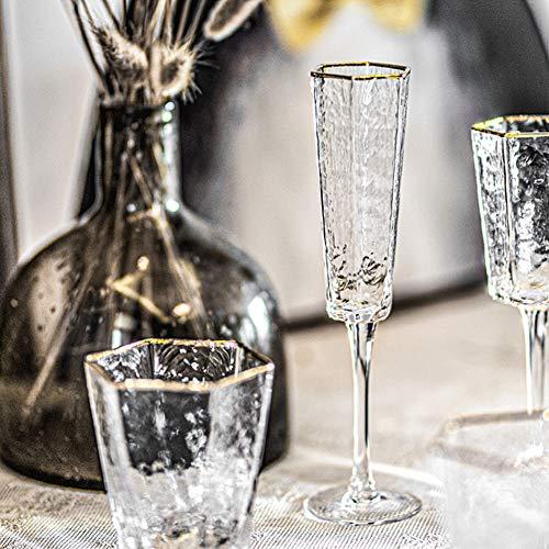 Taza de bebida de champán de vino tinto de gran capacidad con...