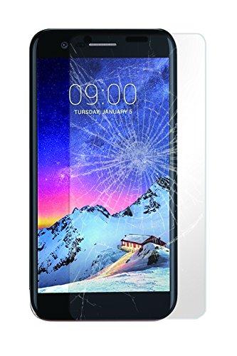 Phonix LGK87TGS - Protector de Pantalla (Cristal Vidrio Templado) para LG K8...