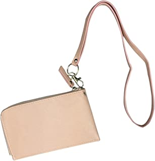 Badiya Women's Soft PU Leather Cellphone Purse Bag with Lanyard Easy to Carry