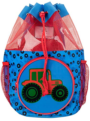 Harry Bear Kinder Badetasche Traktor Blau