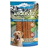 Arquivet Snack para perros Barritas de salmón con piel 100 g