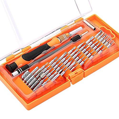 Kit 58 en 1 de Destornilladores Multiusos con Punta Magnética, Herramienta de Precisión, Electrónica Rey®