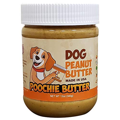 Poochie Butter (3-Packs) Dog Peanut Butter | 12oz All Natural Dog Treats | Healthy Puppy Treat Training Food Small and Big Dogs