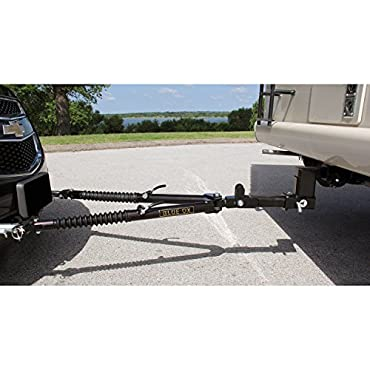 Blue Ox BX4370 Ascent 7500 Pound Class III Adjustable 2 Inch Receiver Tow Bar