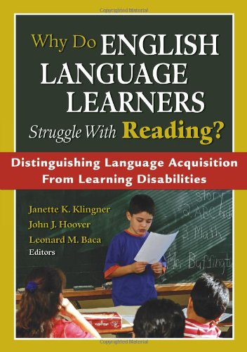Why Do English Language Learners Struggle With Reading?:...