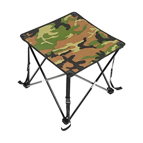 GYH zhuozi LJHA Table Pliante/Table Pliante extérieure portative/Table de Pique-Nique de Camping/Table Pliante d'Oxford / 48 * 48 * 46CM Table (Couleur : A)