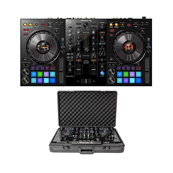 Pioneer DJ DDJ-800 + Magma MGA41103 Case Bundle