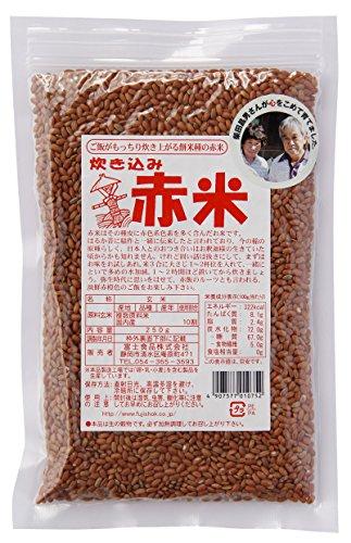 富士食品 炊き込み赤米 国内産 250g