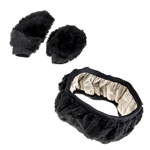 Create Idea Universal-Lenkradbezug, Handbremse, Schalthebel, weich, warm, Plüsch, Wolle, Winter, warm, 3 Stück