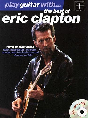 Play Guitar With... The Best Of Eric Clapton (Book, 2 CD): Grifftabelle, CD (2) für Gitarre
