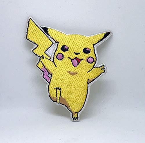 professionnel comparateur Jeu Pikachu Pokemon Catch on All Square Sew avec patch de broderie choix