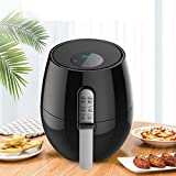 Oil-Free Electric Fryer Touch Screen Smart Oil-Free Air Fryer with Time Control Large Capacity Fries Machine Air Fryer