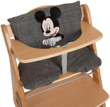 Fixation et Nettoyage Facile Coussin Chaise Haute pour Hauck Alpha+ et Beta+ Multicolor Beige Hauck Highchair Pad Deluxe Coussin pour Assise et Dossier