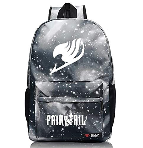 Siawasey Anime Fairy Tail Cosplay Sac à dos d'école lumineux (10 styles)
