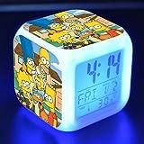FJNS The Simpsons Wecker Kinder Digital mit Buntes