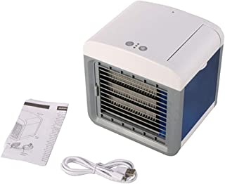 YQ&TL Enfriador PortáTil Aire Acondicionado Ventilador Purificador Humidificador De Aire Oficina Hogar USB Aire Acondicionado Humidificador Purificador Ventilador De Aire Acondicionado De Escritorio