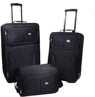 American Tourister Brewster 3-Piece Luggage Set, Black