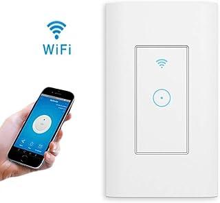 壁スイッチ -Dewin 智能スイッチ、遠隔操作、音声、タイミング、Alexa Google Home IFTTT IOS/Android、AC 110V〜125V、APPコントロール