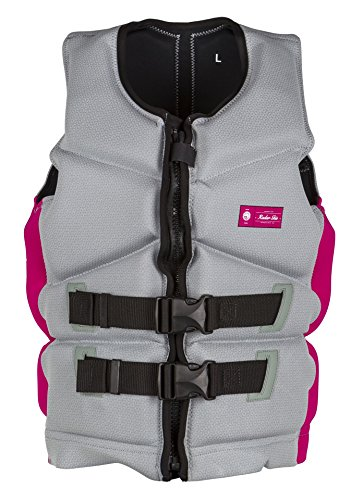 Buy Discount Radar Cameo 2.0 Neoprene Life Jacket Gray/Pink (M)
