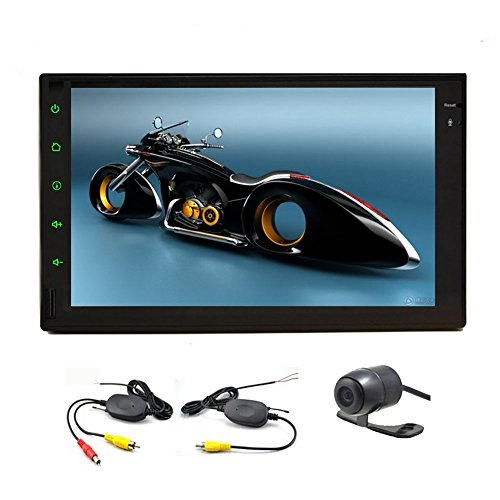 EinCar Android 6.0 HD Car Video Player Tablet 7 inch Double 2 din GPS Navigation with Capacitive Touch Screen Multi-Touch GPS/BT/MAP4/FM/AM Radio in Dash...