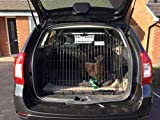 Pet World Dacia Logan MCV Dog Puppy Pet sloped Car travel training carrier crate,cage, (Double)