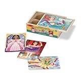 Melissa & Doug Jigsaw Puzzles in a Box – Fanciful Friends