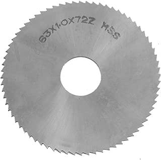 uxcell a11081600ux0132 63mm x 1mm x 16mm 72T Circular HSS Slitting Saw Cutter Cutting Tool