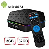 T95Z Plus Android 7.1 TV Box 3 Go RAM/32 Go ROM Octa Core Amlogic S912 TV Box Support 4K Dual Band WiFi 2,4 GHz/5 GHz Bluetooth 4.0 HDMI Ethernet 64 Bits
