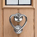 HomeDecor4u New Heart Shaped Door Knocker Enter Your Home in Style